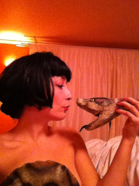 Python. Wig. Insta-Charity-Cleopatra.
